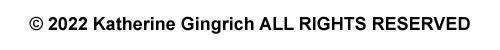 COPYRIGHT 2021 Katherine Gingrich, Gingrich's Fiber & Metal Art