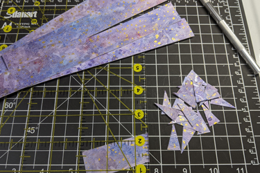Cutting Paper Watercolor Beads